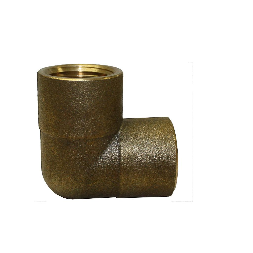 Brass Elbow F&F 25mm