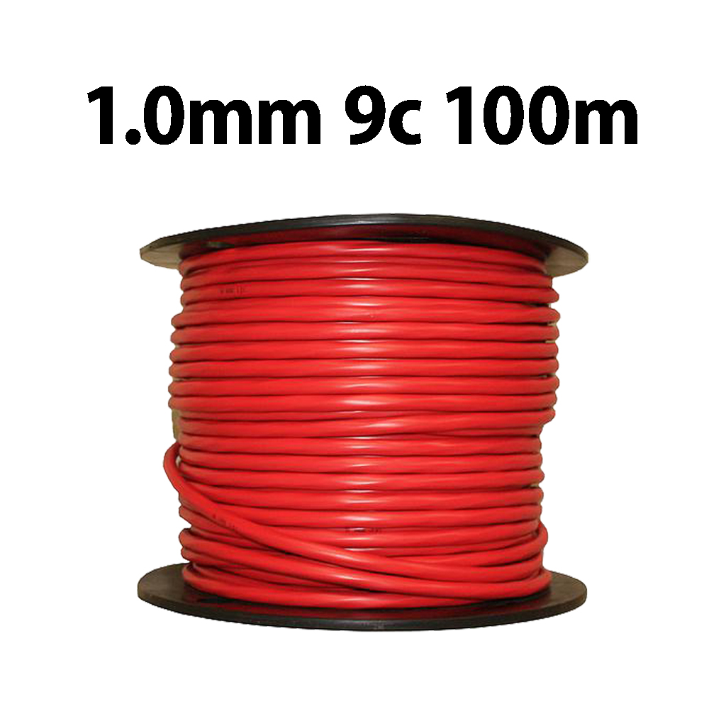 Wire Multicore 1.0mm 9C 100m