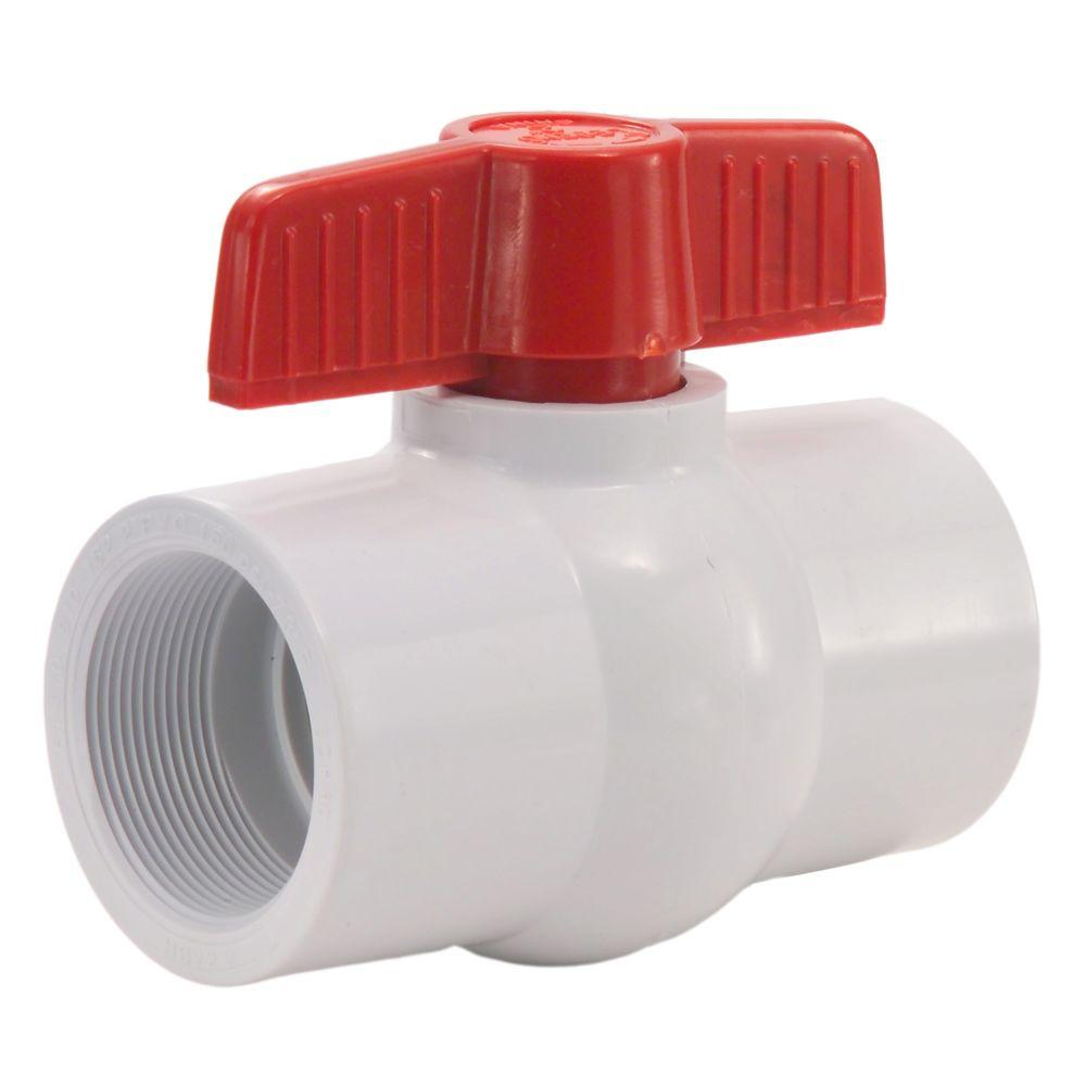 Ball Valve PVC Threaded 32mm