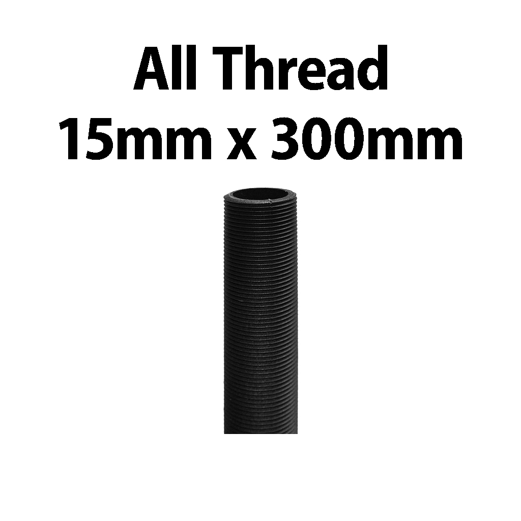 All Thread Riser 15mm x 300mm