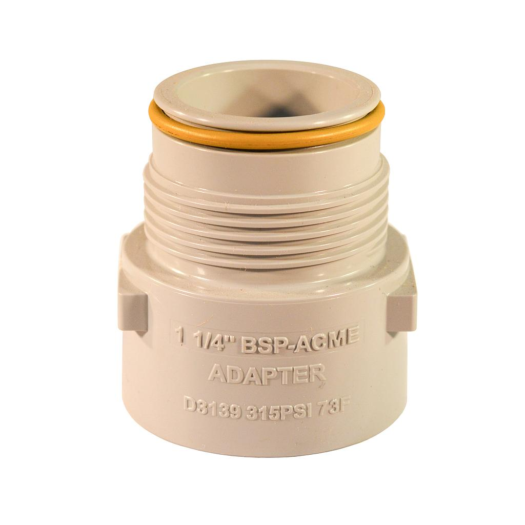 ACME 32mm Male Adaptor To BSP Female